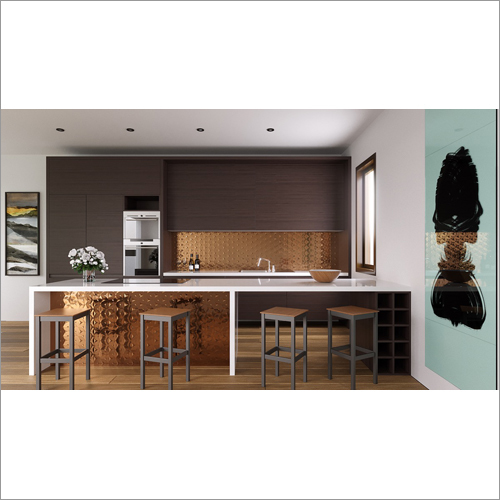 Designer Modular Kitchen Chimney