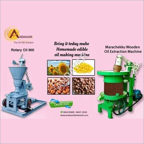 Cold Oil Press Machinery