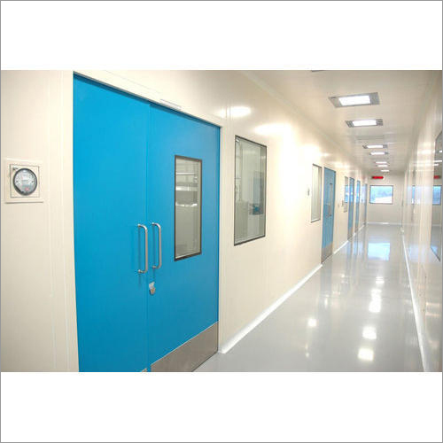 Modular Clean Room Flush Door