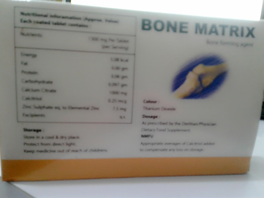 Bone Matrix Tablet