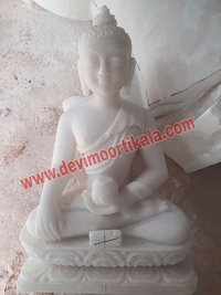 Lord Digamber Jain Marble statue