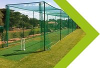 3 mm Green Nylon Cricket Practice Net