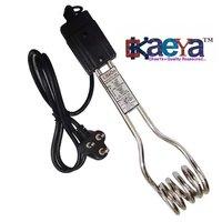 Okaeya-Immersion Rod-Water Heater Rod 1500 Watt Copper Pipe With Chrome Polish Long Heavy Wire