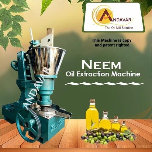 Semi Automatic Neem Oil Extraction Machine
