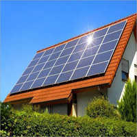 Rooftops Solar Power Panel