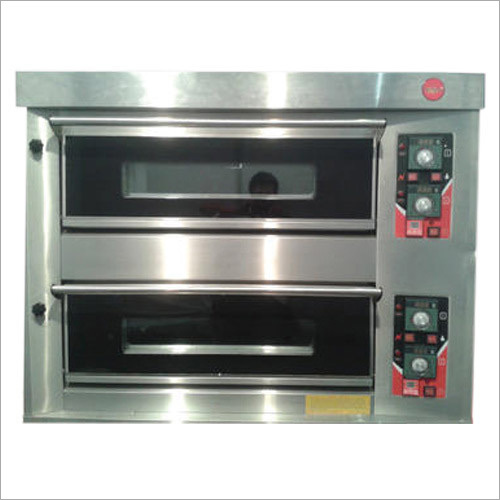 2 Electric Deck and 4 Tray Oven