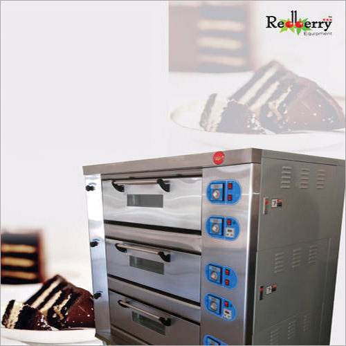 3 Electric Deck Oven