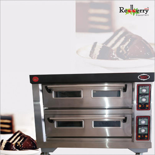 Electric Double Deck and 4 Tray Oven