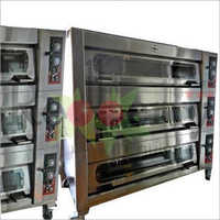 3 Gas Deck and 12 Tray Oven