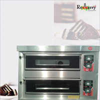 Gas Double Deck Oven