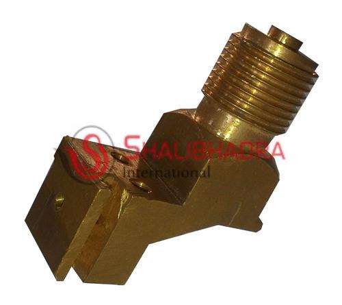 Z Type brass pressure gauge connector
