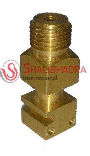 brass schrader inflation valve