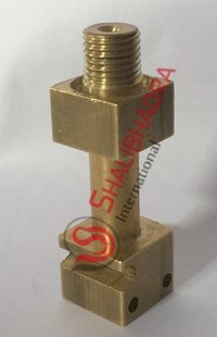 Brass Pressure gauge connector