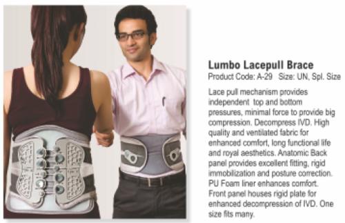 Tynor Lumbo Lacefull brace - Spl. size- (Pc  No- A 29)