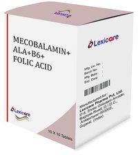 Mecobalamin and ALA and B6 and Folic Acid Capsules