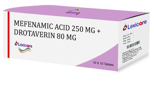 Mefenamic Acid and Drotaverin Tablets