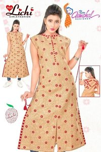 Ladies Embroidererd Kurtis