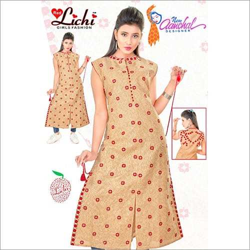 Ladies Sleeveless Kurtis