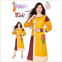 Ladies Cotton Silk Kurtis