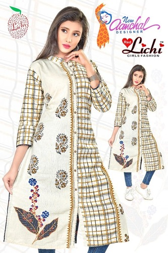 Ladies Block Print Kurtis