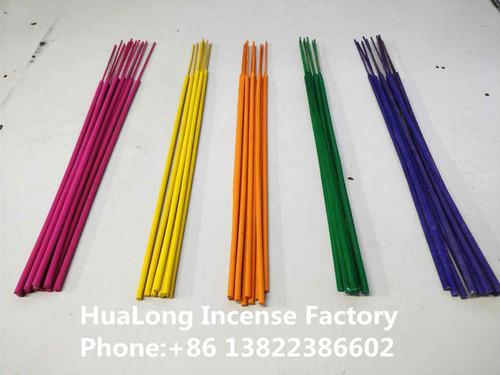 raw colorful agarbatti colored incense stick