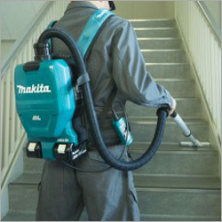 Brushless Cordless HEPA Backpack Vacuum Cleaner