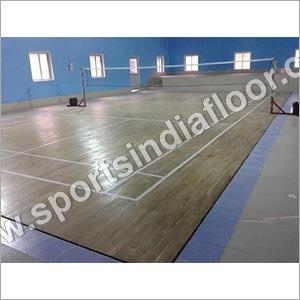 Badminton Court Hardwood Flooring