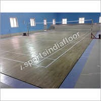 Badminton Court Developer Hardwood Flooring