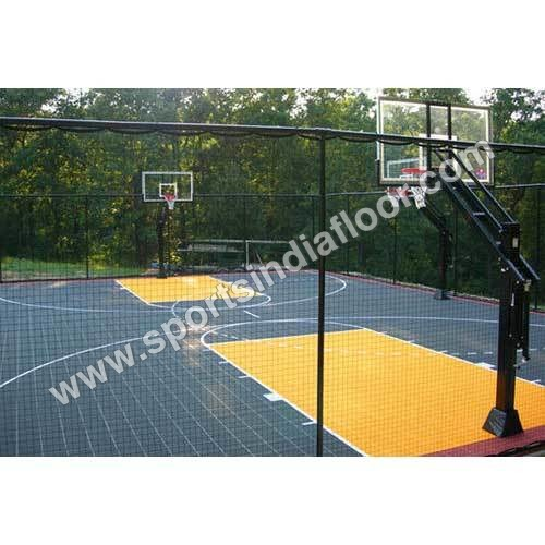 Basketball Court Fence