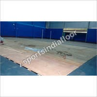 Wooden Badminton Flooring