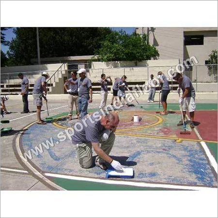 Basketball Court Repairing Service