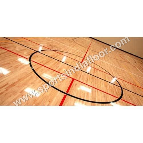 Basketball Flooring Installation