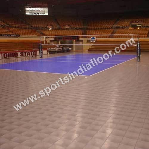 Volleyball Court Flooring Installation Services