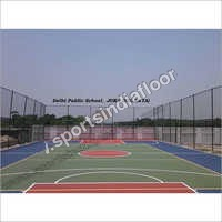 Outdoor Basketball Court