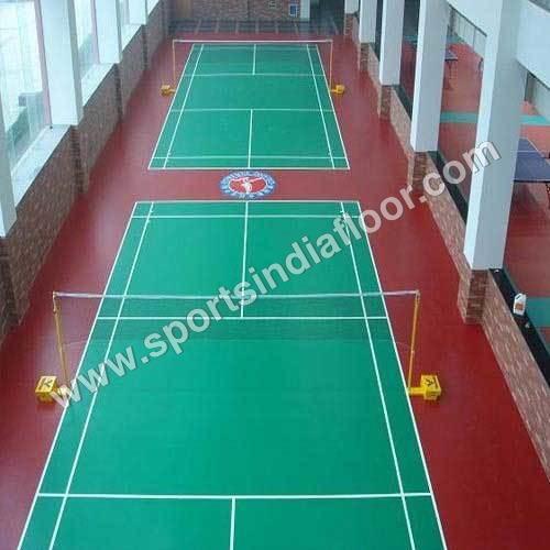 Badminton Indoor PVC Flooring