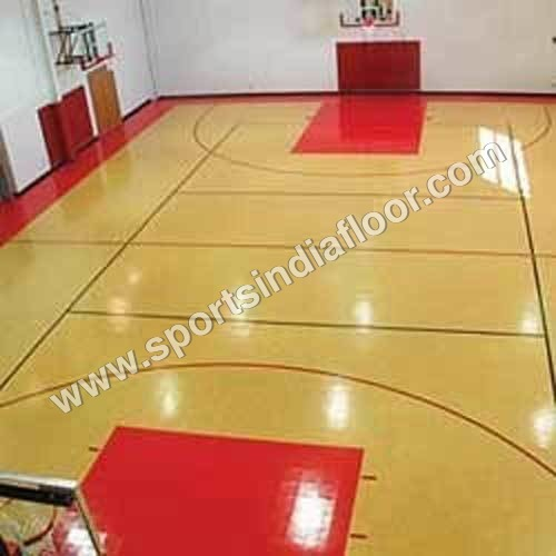 Indoor Basketball Court Flooring