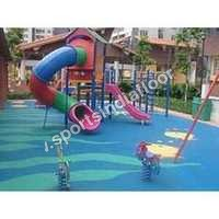 Children Play Area Rubber Flooring