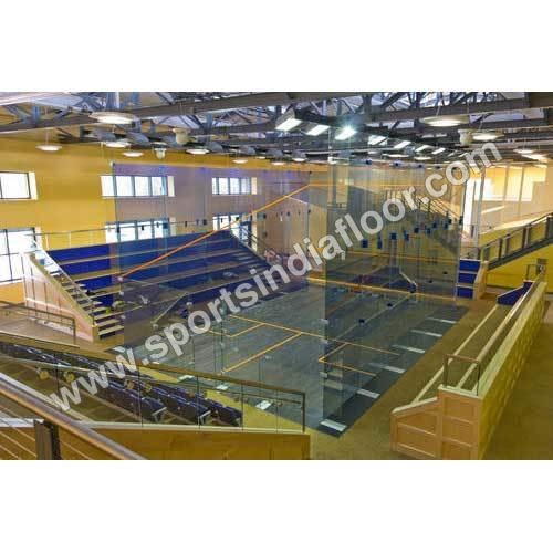 Squash Court Glass Wall System