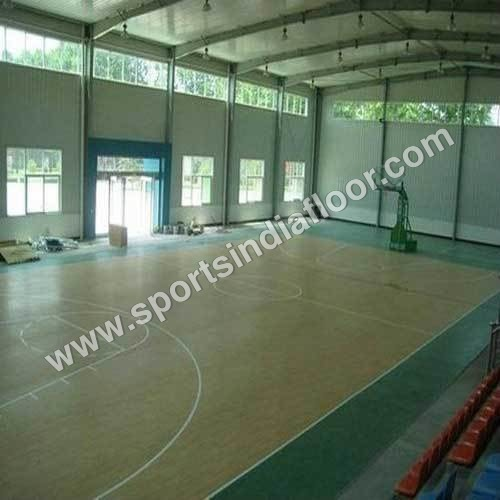 Synthetic Basketball Flooring