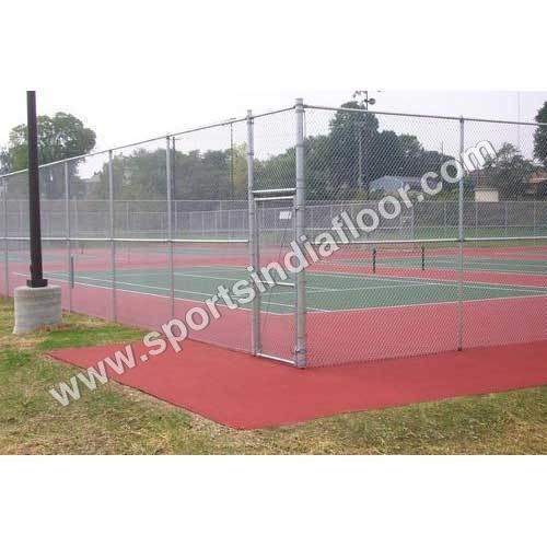 Tennis Court Chain Link Fencing
