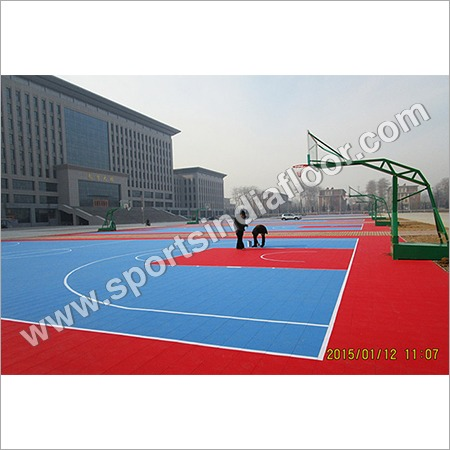 Outdoor Sports PP Modular Tiles