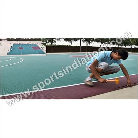 Outdoor Tennis Court PP Modular Tiles