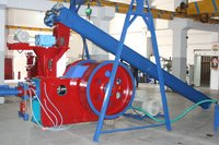 Castor Seed Shell Briquetting Machine