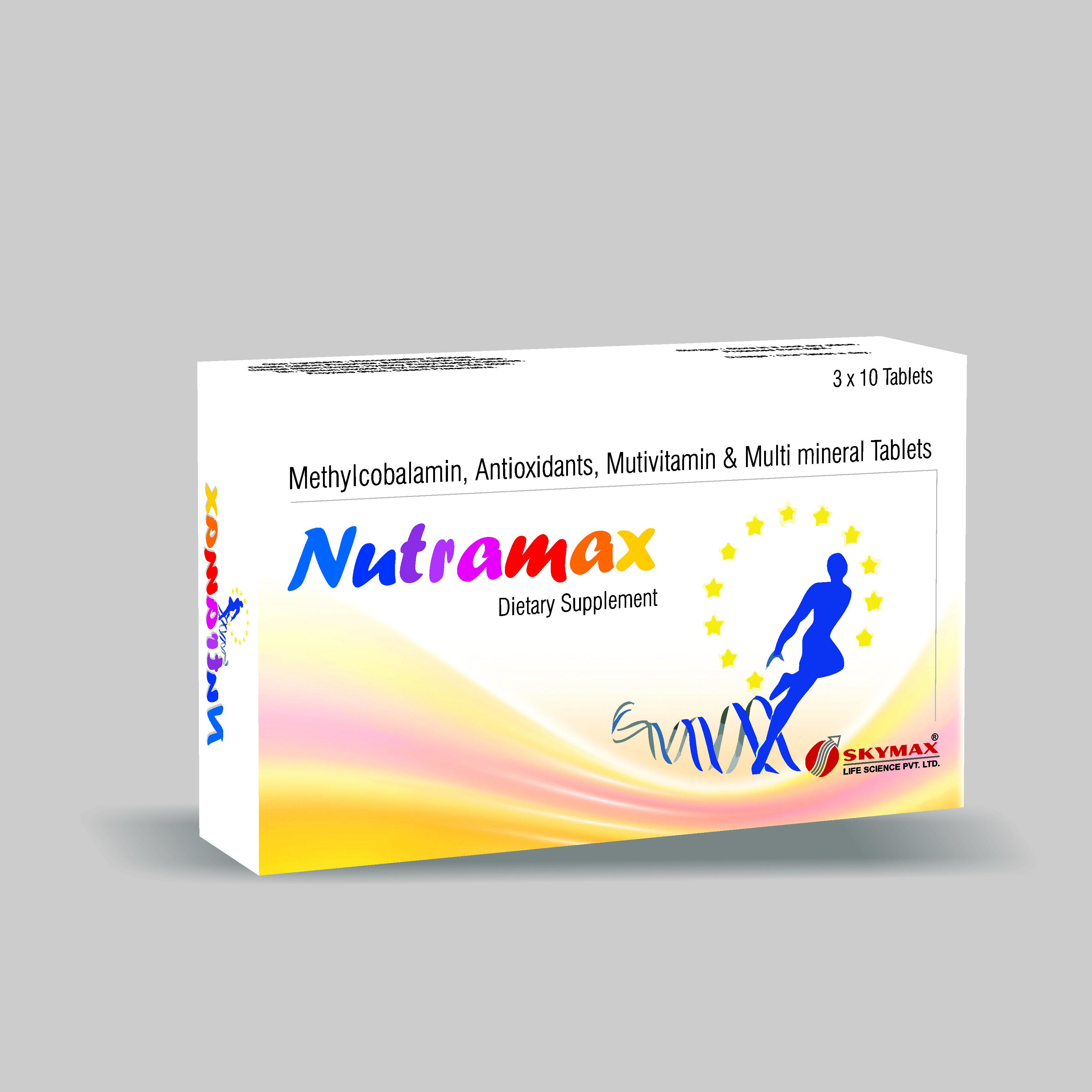 Methylcobalamin, Antioxidants, Mutivitamin & Multi Mineral Tablets