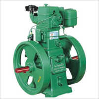 Single Cylinder Double Wheel Water Cooled Diesel Engine
