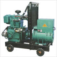Water-Air Cooled Diesel Generator