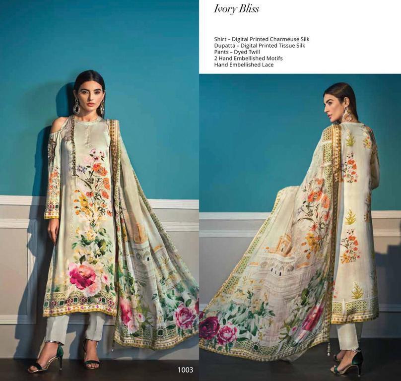 Silk Digital Print Suits