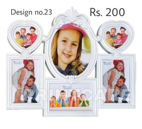 Plastic Collage Photo Frame