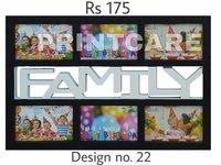 Family Plastic Photo Frames