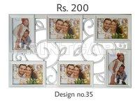 Plastic Collage Photo Frames